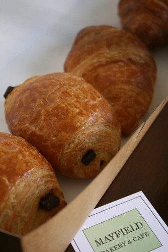 Croissants@MAYFIELD BAKERY & CAFE