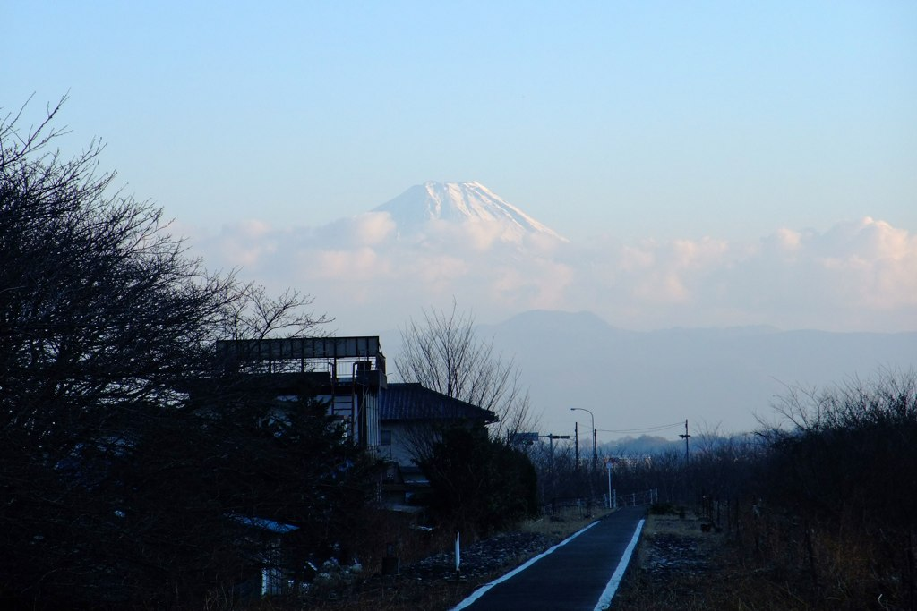 Mt. Fuji view from Nirasaki City
