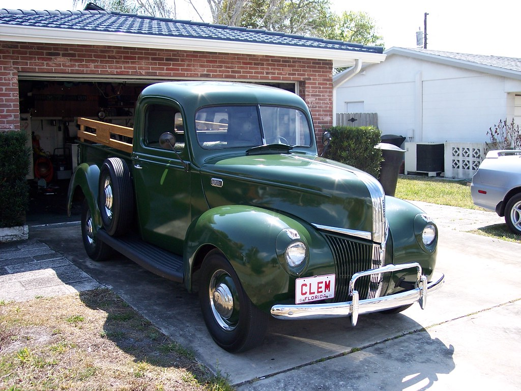 1941 Pick Up Horn The Ford Barn Pickup Truck By Mrmoose1 On Flickr