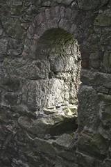 Arch detail on Baronets engine house interior. (john durrant) Tags: uk chimney brick cornwall interior arches stack granite coppermine tinmine redruth kernow quoins whealamelia pennanceconsols carnmarth baronetsenginehouse
