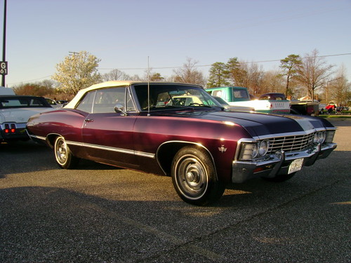 1967 Chevy Impala convertible