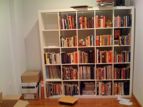 new bookcase day 2