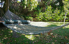 The humble origins of the garden hammock