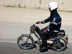 hey hey mr policeman (caseh) Tags: tunisia police dirtbike