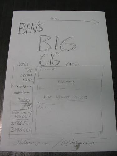 Ben's Big Gig #1