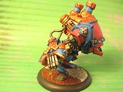 castigator side (Zombie Master) Tags: warmachine menoth warjack castigator