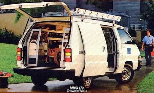 Toyota Van - Wonderwagon