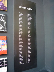 1989-2009 (nattynattyboom) Tags: show paris art graffiti tag au grand exhibition collection exposition palais gallizia