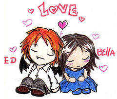 Edward And Bella Cartoon