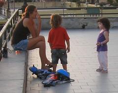 Family time in Camogli (bryanDeldridge) Tags: italy liguria camogli italianriviera