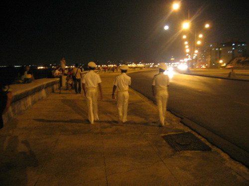Night scene, Malecon