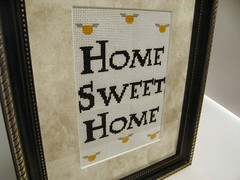 Home Sweet Home Close-up