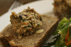 Cannelini Bean Pate on Spelt Bread