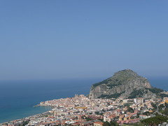 View of Cefalu from our balcony (Jolly_Jarvis) Tags: italy holiday sicily cefalu