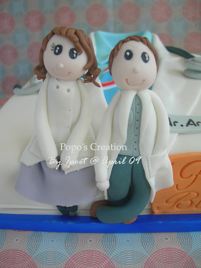 Cake for dr. Arum and dr. Bambie
