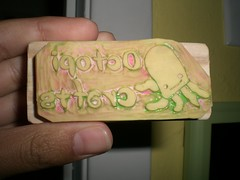 Octopi Crafts Stamp