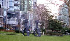 Vancouver Sculpture Beinnale #16 (Elsbro) Tags: sculpture vancouver coalharbour