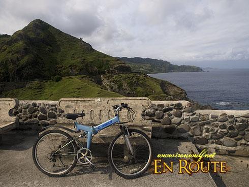 Biking Batan Island Bike on View Deck