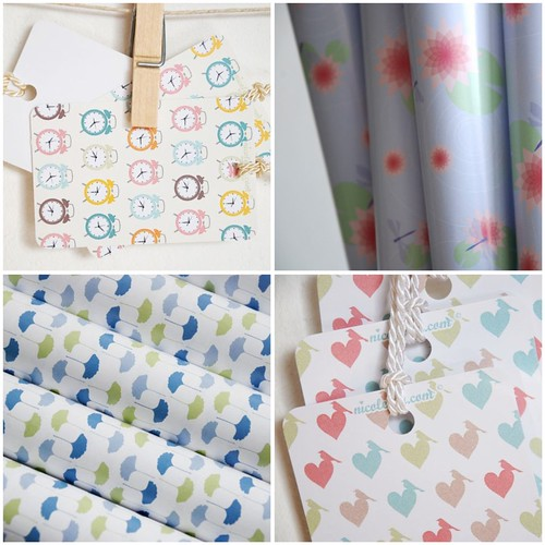 Nicoletter Paper Goods {+ a pretty apartment!}