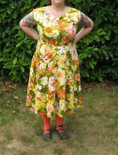 dress--working combination--floral print