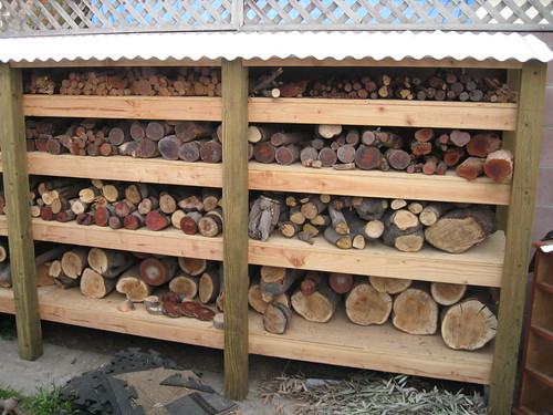 log drying racks