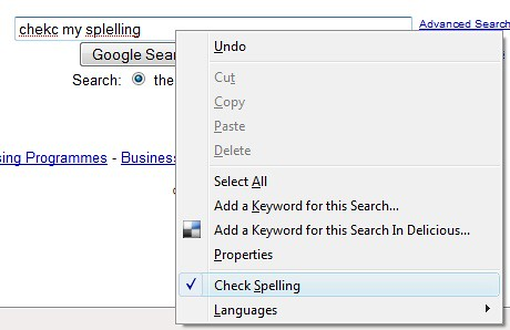 Firefox spell checker 2