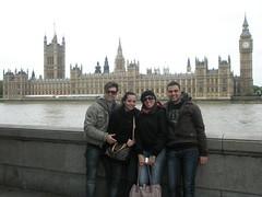 London 2009- L'allegra combriccola!
