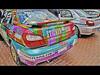 Subaru Rally Team USA 3 - HDR (David Gn Photography) Tags: auto cars oregon photoshop portland rockstar racing subaru van pioneercourthousesquare hdr photomatix rallycars subarurallyteamusa topazadjust canonpowershotsx1is