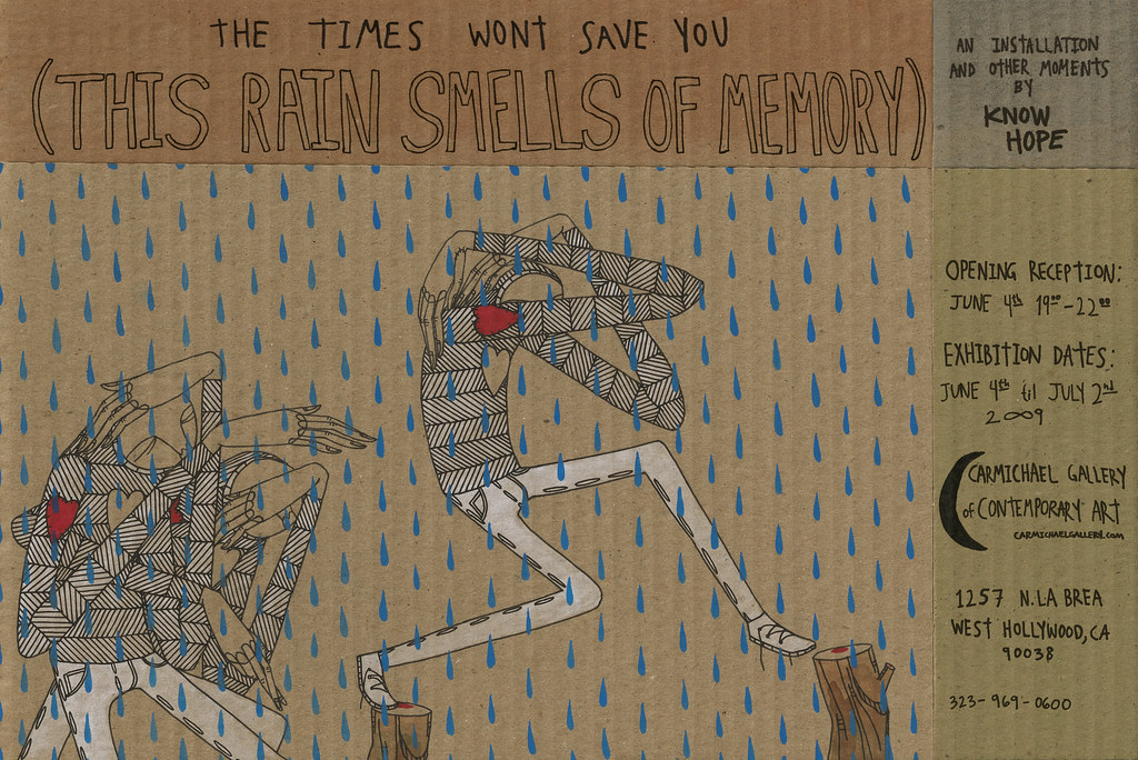 the times wont save you (this rain smells of memory)