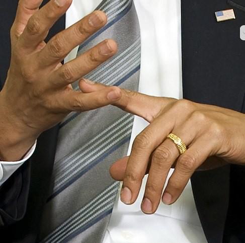 same ring - Obama Wedding Ring