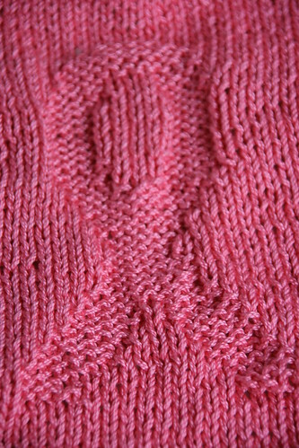 pink ribbon washcloth