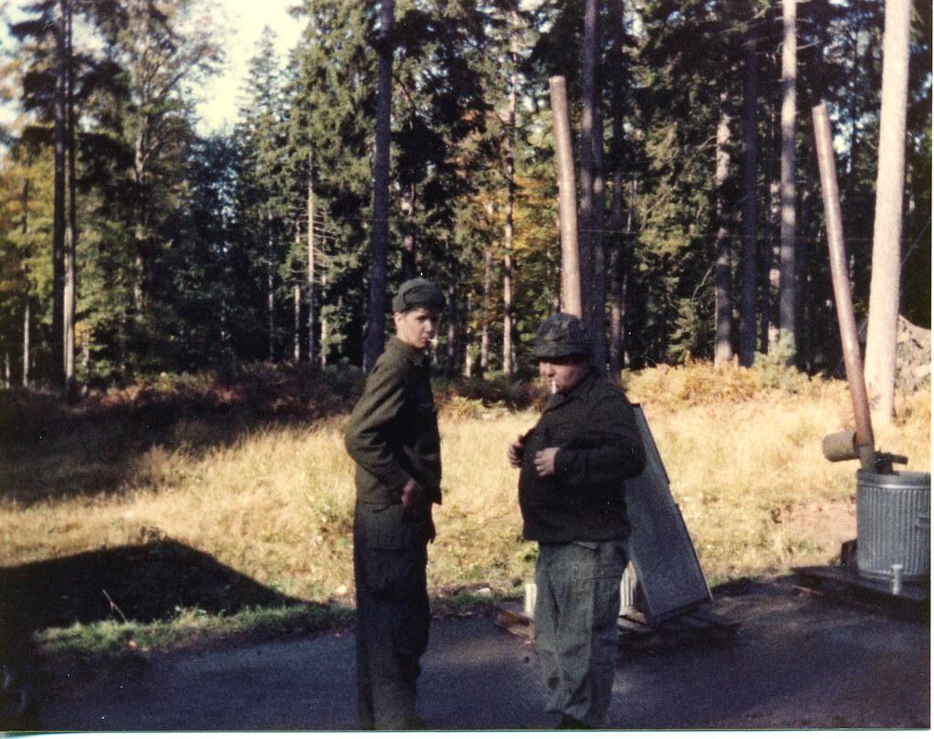 Lane and Sgt. Davenport