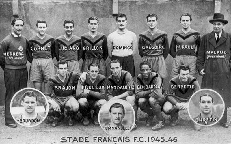 stade français 1945-46