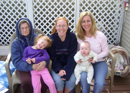 The Girls...four generations...