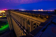 Michigan Central Station from the Top