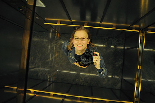 09-05-27 Me in the elevator 2009