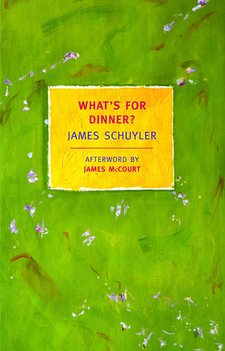 What's For Dinner by James Schuyler