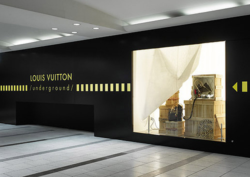 LOUIS VUITTON  underground