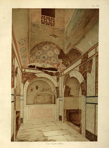 009- Cripta del papa San Eusebio-La Roma sotterranea cristiana - © Universitätsbibliothek Heidelberg