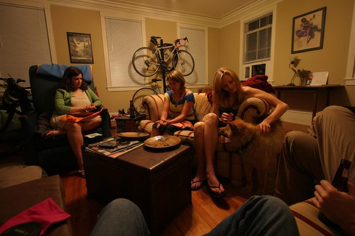 Couchsurfing in Charleston...