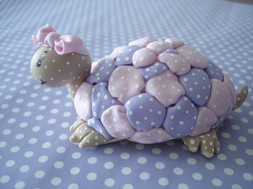 tartaruga em patchbiscuit