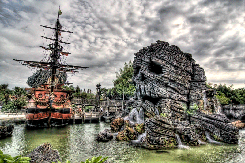 Disneyland Paris - Piratas del Caribe