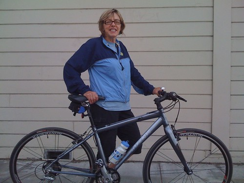 The fabulous Ms. C and her Trek 7.5 FX by Cold Iron.