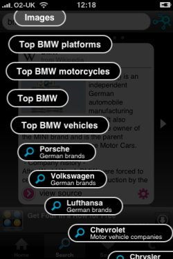 Taptu search filters