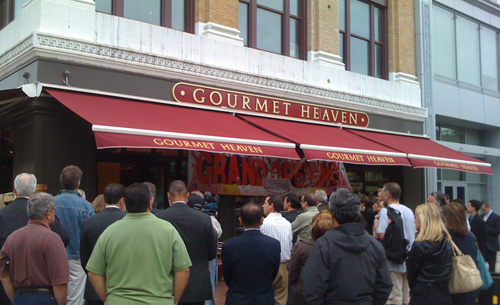 Gourmet Heaven Grand Opening