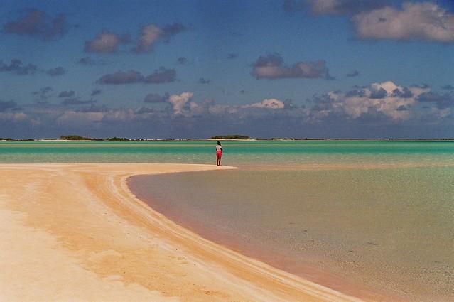 les sables roses rangiroa polinésie française