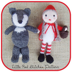 Little Red Riding Hood – free knit and crochet patterns
