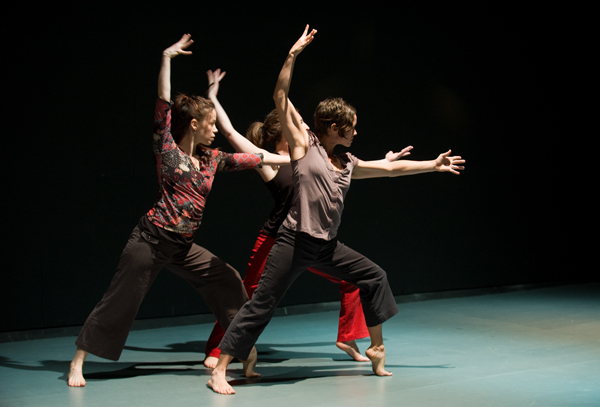 Methow Dance Collective  Performed Break Ground at the Merc Playhouse this past weekend