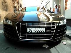 Audi R8 V10 (europeanspotter) Tags: brown germany chocolate nuremberg ps braun audi rare v10 520 r8 selten schokoladen audir8v10 europeanspotter