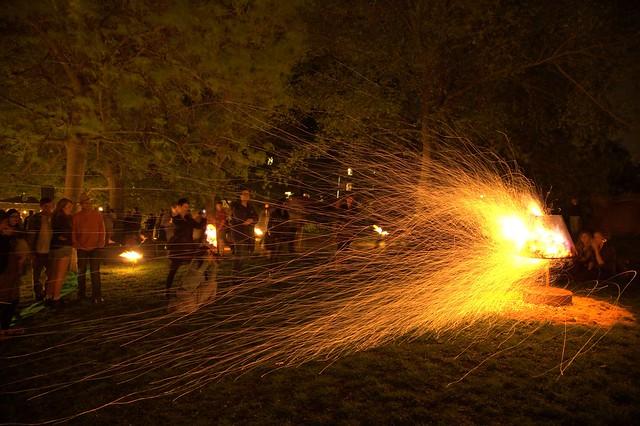 Jardin Flambeau - Sparks